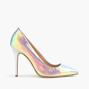 J. Crew Roxie Iridescence Pumps